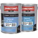 Johnstones Anti Bacterial Acrylic Eggshell bílá 5 L