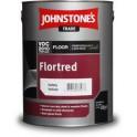 Johnstones Flortred - Alkyduretánová barva na podlahy syntetická Dark Green (Tmavě zelená) 5 L