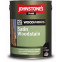 Johnstones Satin Woodstain teak 2,5 l