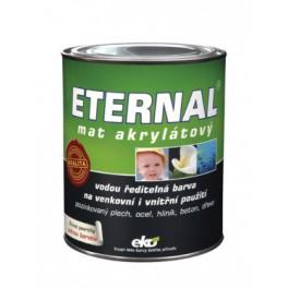 Eternal mat akrylátový 021 středně hnědý 10 kg - vodou ředitelná barva pro venkovní i vnitřní použití