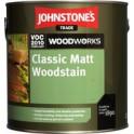 Johnstones Classic Matt Woodstain Rosewood (Růžové dřevo) 5 L