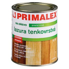 Primalex LAZURA TENKOVRSTVÁ 0,75 L