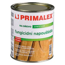 Primalex FUNGICIDNÍ NAPOUŠTĚDLO NA DŘEVO 0,75 L