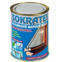 SOKRATES napouštědlo professional 0,7 kg - Akrylátové mikromolekulární napouštědlo na dřevo