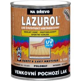 LAZUROL - LAK VENKOVNÍ POCHOZÍ S1020 0,75 L