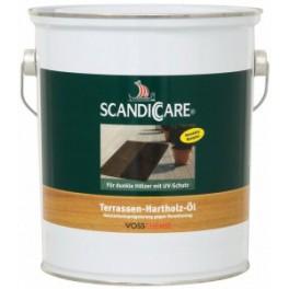 Scandiccare Terasový tmavý olej - TERRASSEN-HARTHOLZ-ÖL 1 L