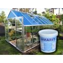 Amarit 1 KG - stínící barva na skleníky a světlíky