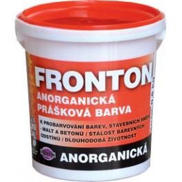Fronton 0191 ŠEDÝ - Anorganická prášková barva venkovní a vnitřní použití 800 g