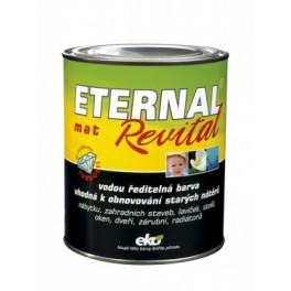 Eternal mat revital 2,8 kg - vodou ředitelná barva vhodná k obnovování starých nátěrů
