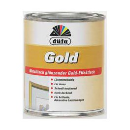 Düfa Gold - Zlatěbronzová barva ZBB 0,125 L