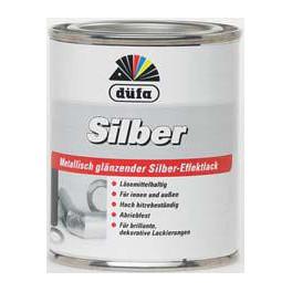 Düfa Silber extra - Stříbrná žáruvzdorná barva SZB 0,125 L