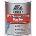 Düfa Acryl Wetterschutzfarbe - Akrylátová univerzální barva AUB 0,75 l