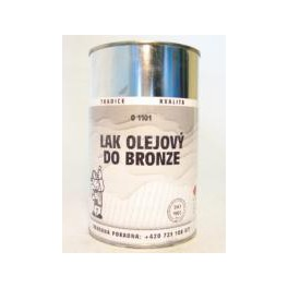 Lak olejový do bronzu O1101 4 KG