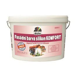 Düfa Fasádní barva silikon KOMFORT KOM6 10 L