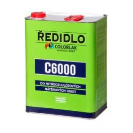 ŘEDIDLO C 6000 0,42 L - do nitrocelulózových nátěrových hmot COLORLAK