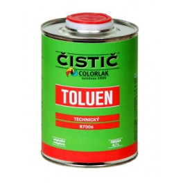 TOLUEN TECHNICKÝ R 7006 9 L - technický toluen k odmašťování a čištění povrchu kovových předmětů