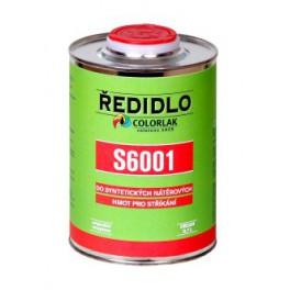 ŘEDIDLO S 6001 0,42 L - do syntetických nátěrových hmot pro stříkání