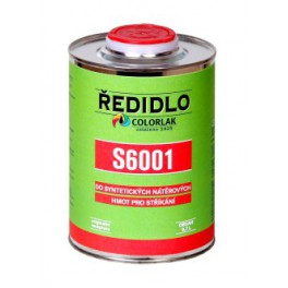 ŘEDIDLO S 6001 4 L - do syntetických nátěrových hmot pro stříkání