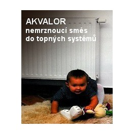 AKVALOR 5 KG - koncentrovaná nemrznoucí kapalina na bázi glykolů