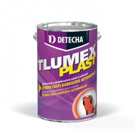 Detecha Tlumex Plast černý 4 kg