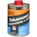 Toluenové rozpouštědlo a čistič 420 ml SV
