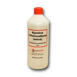 Kyselina chlorovodíková - solná 0,5 L