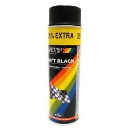 MOTIP 4001 SPRAY ČERNÝ POLOLESKLÝ 500 ML SEMI GLOSS BLACK - POLOMAT RALLY