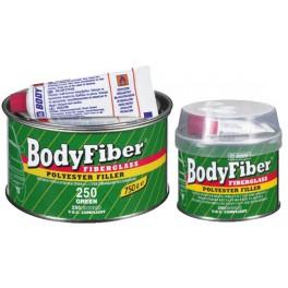 Bodyfiber 250 - Dvousložkový polyesterový stěrkový tmel se skelným vláknem