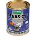 DENAS 2v1 0,7 KG - Antikorozní rychleschnoucí vodou ředitelná jednovrstvá barva