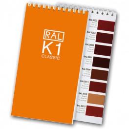 Vzorník RAL K1 CLASSIC - Vzorkovnice RAL E 2
