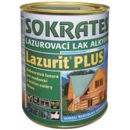 SOKRATES Lazurit PLUS 4 KG - lazurovací lak alkydový - zesíťující
