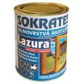 SOKRATES lazura 4 kg - silnovrstvá akrylátová lazura pro venkovní i vnitřní použití