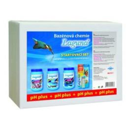 Laguna startovací set (s pH plus) - Startovací sada k uvedení bazénu do provozu a průběžné údržbě