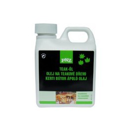 PNZ Olej na teakové dřevo (PNZ-YACHT+GARTENMÖBEL-ÖL Teaköl) 10 L