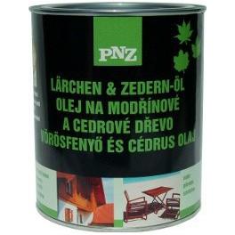 PNZ Olej na modřínové a cedrové dřevo (PNZ - LÄRCHEN+ZEDERN-ÖL, farblos) 0,75 L