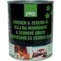 PNZ Olej na modřínové a cedrové dřevo (PNZ - LÄRCHEN+ZEDERN-ÖL, farblos) 2,5 L