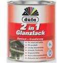 Düfa Glanzlack 2v1 - Akrylátový email lesklý RAL 9010 bílý 0,75 L