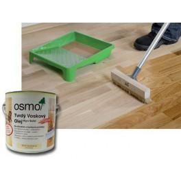 Osmo olej 3011 LESK - Tvrdý voskový olej Osmo original 2,5 L + ŠTĚTEC PROFI ZDARMA