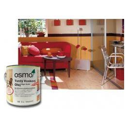 Osmo Tvrdý voskový olej barevný - na podlahy, odstín zlatý, stříbrný 2,5 L