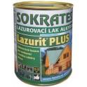 SOKRATES Lazurit PLUS 9 KG - lazurovací lak alkydový - zesíťující