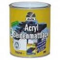 Düfa Acryl Seidenmattlack - Akrylátový email hedvábně matný RAL 9010 BÍLÝ ASM 2,5 l