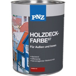 PNZ Holzdeckfarbe - Krycí přírodní olej 2,5 l