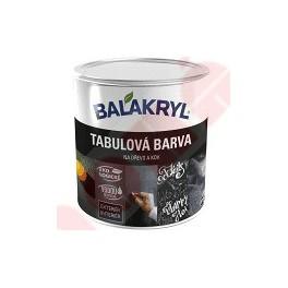 Balakryl tabulová barva - 0,7 kg černá
