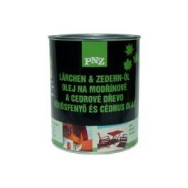 PNZ Olej na modřínové a cedrové dřevo (PNZ - LÄRCHEN+ZEDERN-ÖL)